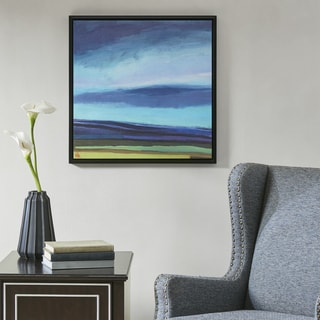 Madison Park Evening Sky Multi Gel Coat Framed Canvas