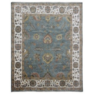 FineRugCollection Hand Made Oushak Oriental Rug (8' x 9'10)