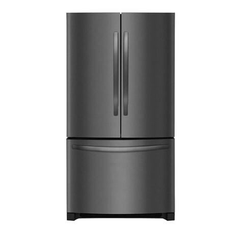 Shop Frigidaire 224 Cu Ft French Door Counter Depth Refrigerator