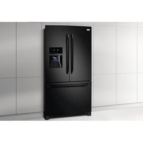 Frigidaire 27.2 Cu. Ft. French Door Refrigerator (Black -...