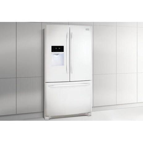 Frigidaire 27.2 Cu. Ft. French Door Refrigerator (White -...