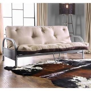 Furniture of America Elias Contemporary Two-Tone 6-inch Tufted Futon Mattress