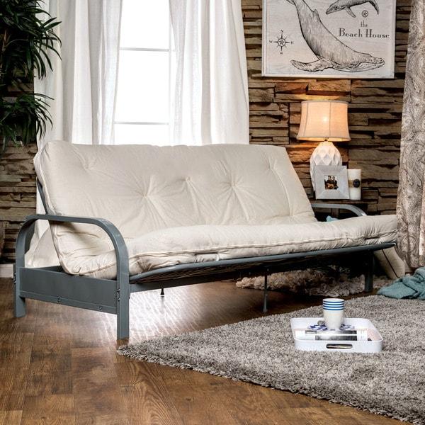 Furniture Of America Amaya Contemporary Tufted 8 Inch Futon Mattress