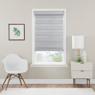 Cordless Celestial Room Darkening Double Layered Shade - Oyster (More options available)
