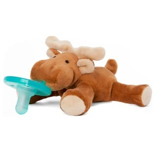 Wubbanub Plush Infant Pacifier - Moose