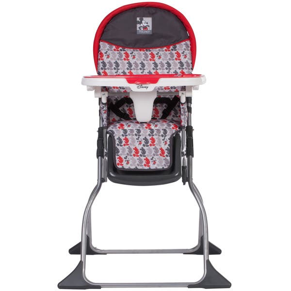 Excellent Shop Disney Baby Simple Fold Plus High Chair In Mickey Line Andrewgaddart Wooden Chair Designs For Living Room Andrewgaddartcom