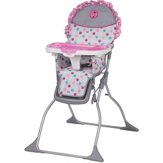 Disney Baby Simple Fold Plus High Chair in Minnie Dot Fun