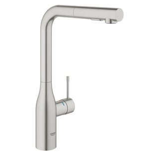 Link to Grohe 30271DC0 Supersteel Essence Pull-Out Kitchen Faucet with 2-Function Locking Sprayer Similar Items in Faucets