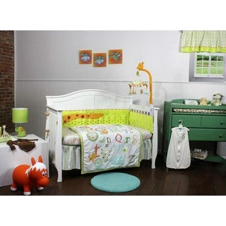 My ABCs First Friends 5 Piece Nursery Bedding Set