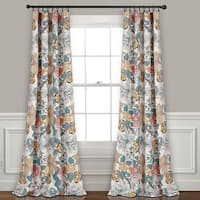 Lush Decor Sydney Room Darkening Curtain Panel Pair - 84 Inches