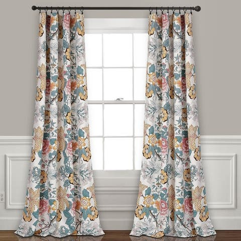 The Curated Nomad Chorro Room Darkening Curtain Panel Pair