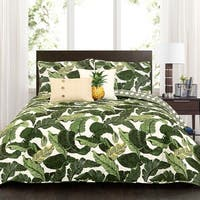 Lush Decor Tropical Paradise 5 Piece Quilt Set