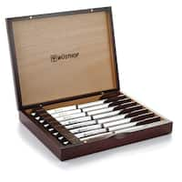 Wusthof Steak Knife Set in Rosewood Colored Chest-9468