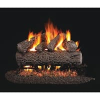 RH Peterson Real Fyre Classic Series Post Oak Vented Gas Logs 18 Inch Logs Only