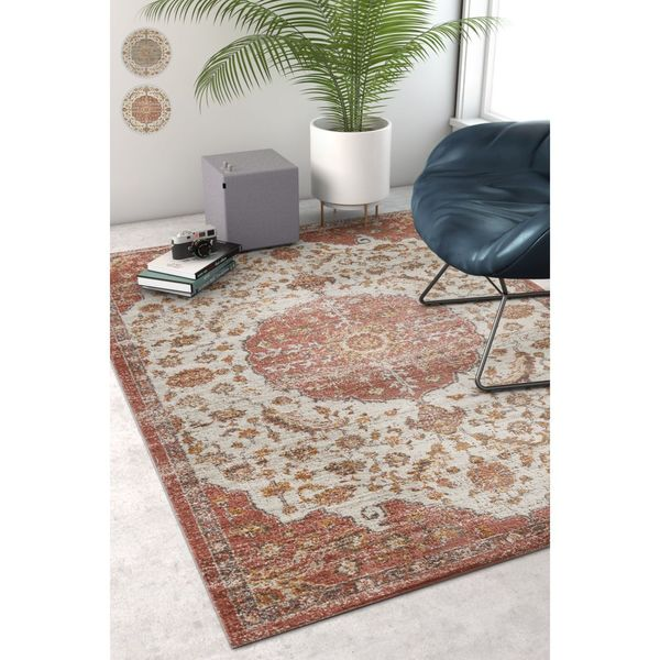 Well Woven Sayan Traditional Vintage Area Rug - 7'10 x 9'10