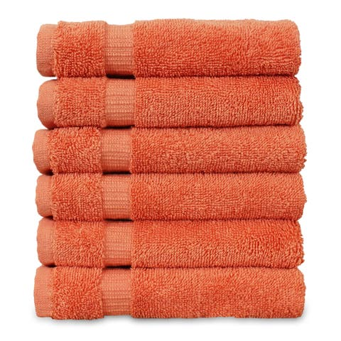 Bare Cotton 13x13-inch Washcloths (set of 6)