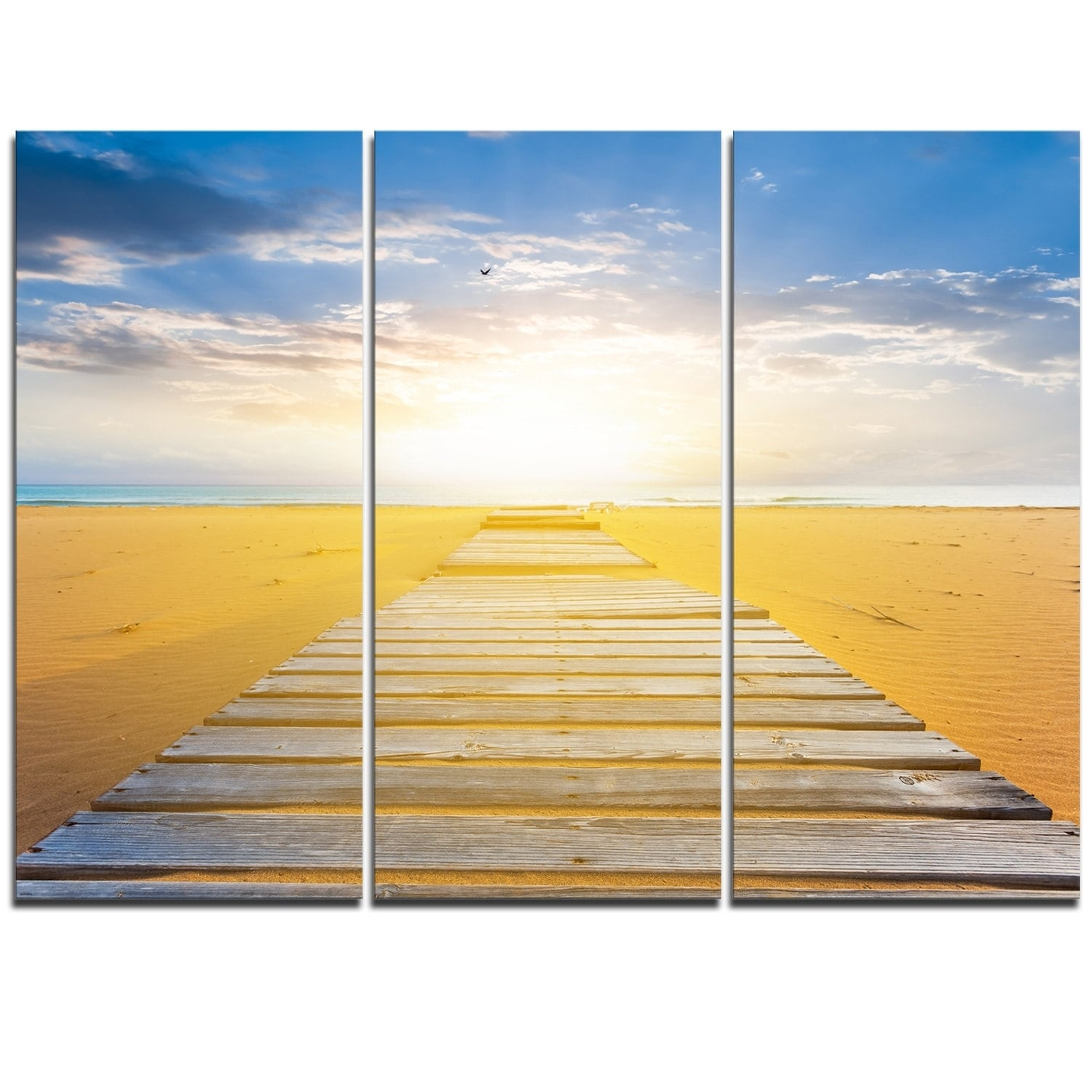 Nice Beach Scenes Wall Art Gallery - The Wall Art Decorations ...