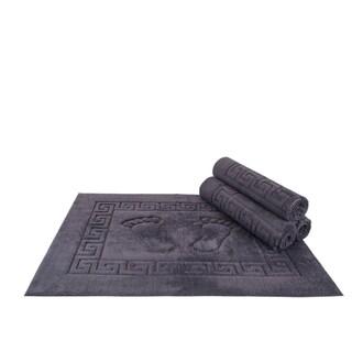 Polyester 12x19-inch Bath Mat (set of 4)