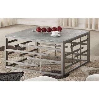 Aero Frame Metal Cocktail Table