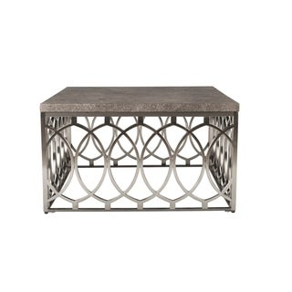 Grace Gold Base Cocktail Table