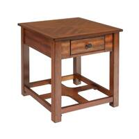 Graham Burnished Cherry End Table
