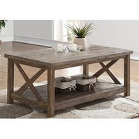 Tuscany Park Vintage Grey Cocktail Table