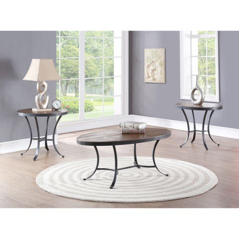Stella Distressed 3-pack Occasional Tables