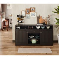 Shop Winsome Wooden Diego Buffet 2 Shelf Sideboard Table