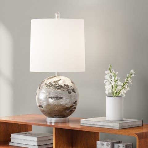 Carson Carrington Mosfellsbaer Round Table Lamp (As Is Item)