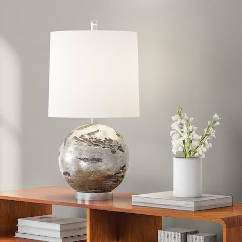 Carson Carrington Mosfellsbaer Round Table Lamp