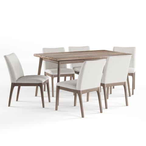 Carson Carrington Lulea Mid-century 7-piece Dining Set