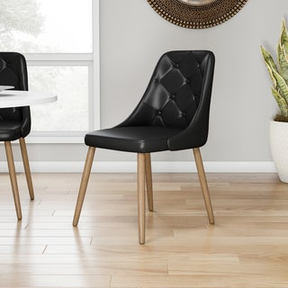 Carson Carrington Arvika Tufted Mid-century Modern Dining/ Accent Chair (3 options available)