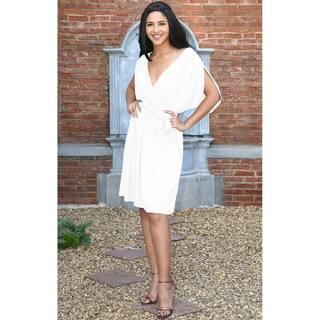 9b97368a921d KOH KOH Long Sleeve Wrap Flowy Modest Fall Winter Maxi Dress Gown. 40.  Quick View