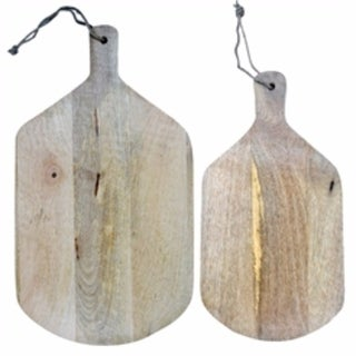 Sturdy Wood Ideal Cutting-Boards, Brown, Set Of 2