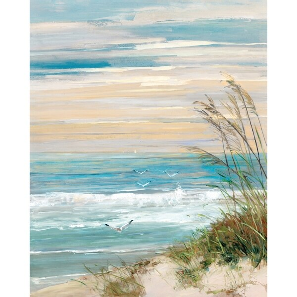 Shop Portfolio Canvas Decor Beach At Dusk Canvas Wall Art