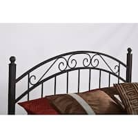 Gracewood Hollow Quist Queen Headboard with Rails