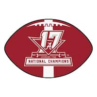 Univ of Alabama 2017 Football National Champions Football Rug