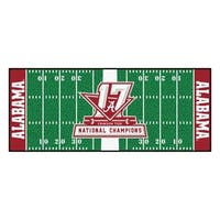Univ of Alabama 2017 Football National Champions Runner
