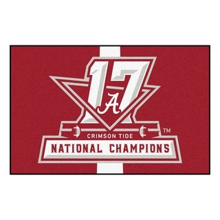 Univ of Alabama 2017 Football National Champions Starter Rug