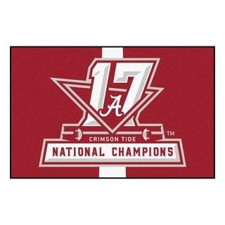 Univ of Alabama 2017 Football National Champions Starter Rug