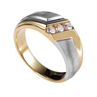 14 Multi-Tone Gold Diamond Band Ring 58008XXX4E1