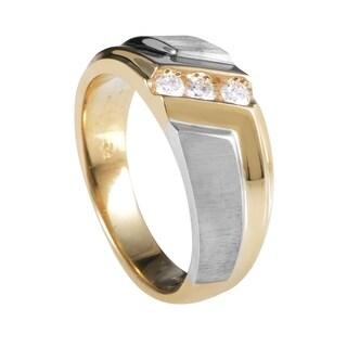 Multi-Tone Gold Diamond Band Ring 58008XXX4E2