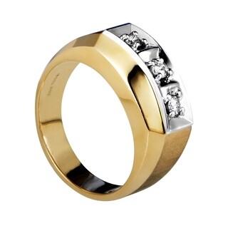 Multi-Tone Gold Diamond Band Ring 04131X084E2