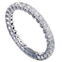 1.13ct  White Gold Diamond Eternity Band Ring