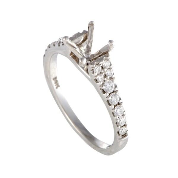 2de1696eb373a Shop Scott Kay ~.35ct White Gold Diamond Engagement Ring Mounting ...