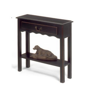 Solid Wood Small Console Table