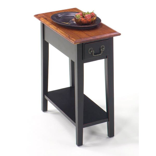 Solid Wood Chairside Table. Opens flyout.