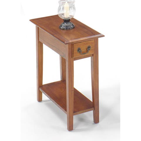 Solid Wood Chairside Table