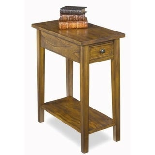 Solid Wood Chairside Table - 24 high x 11.5 wide x 25 long