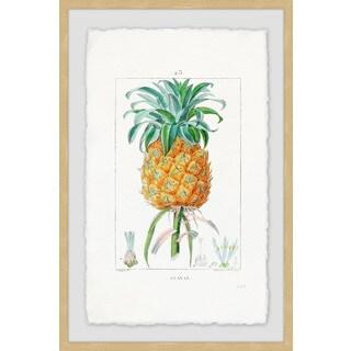 'Botanical Pineapple' Framed Painting Print